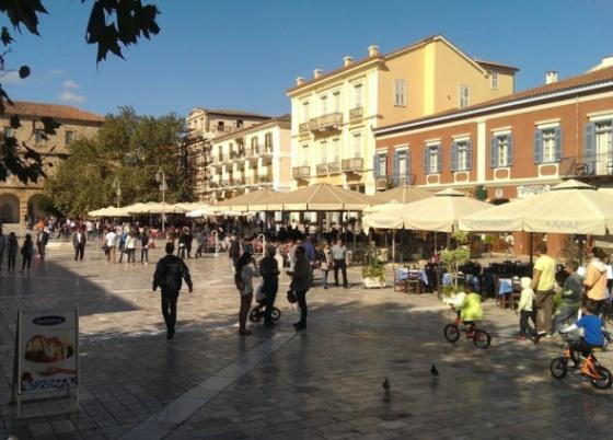 Город Нафплио был первой столицей Греции