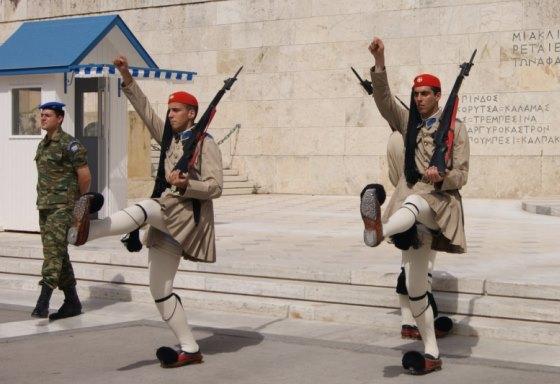 Сингтагма в Афинах