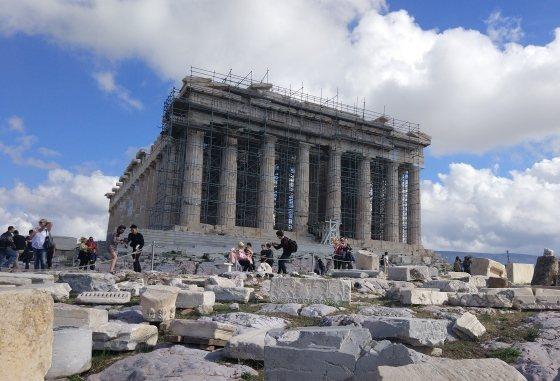 Афины в мае