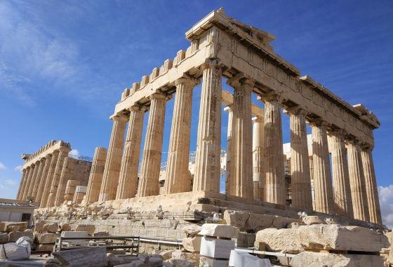 Маршрут по Афинам