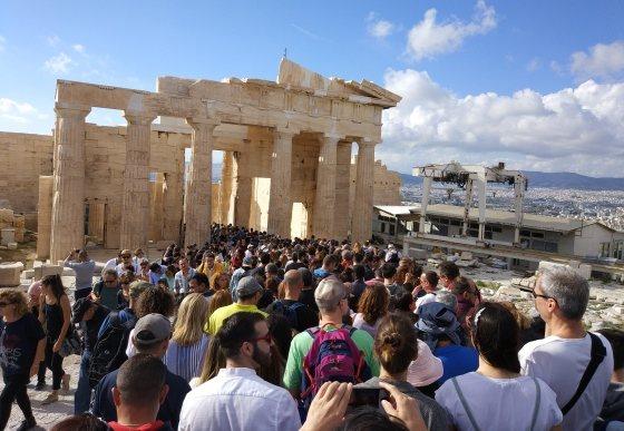 Акрополь в бесплатный день