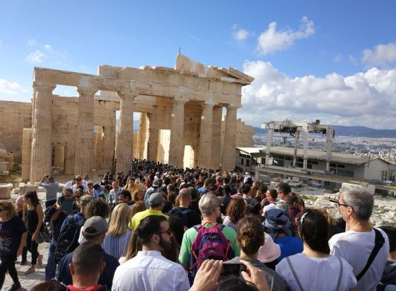 Афины в августе