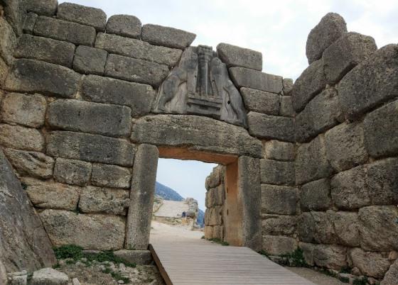 Микены, Львиные ворота