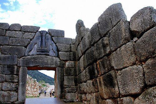 Микены были важнейшим городом Греции до Дорийского завоевания