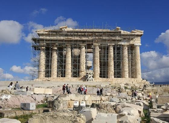Парфенон, Акрополь