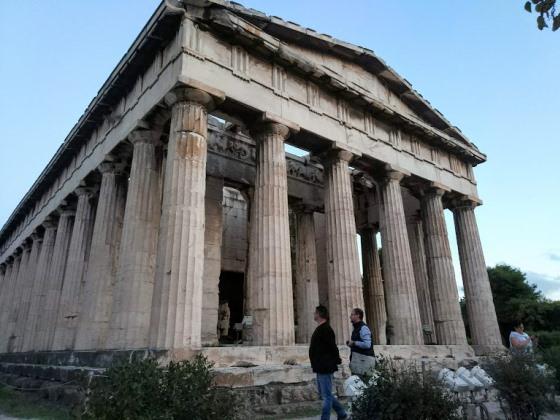 Храм Гефеста, Афинская Агора