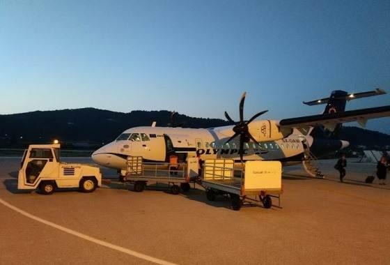 Рейсы на Лесбос осуществляют обе основные авиакомпании Греции