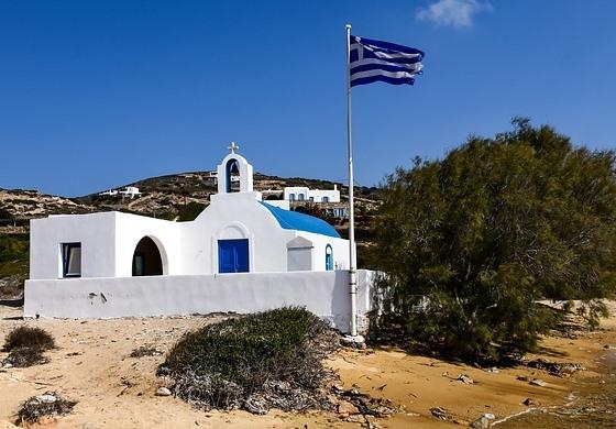 Церковь на острове Парос