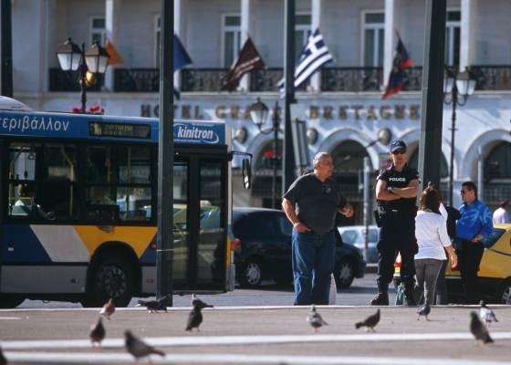 Автобус в Салониках