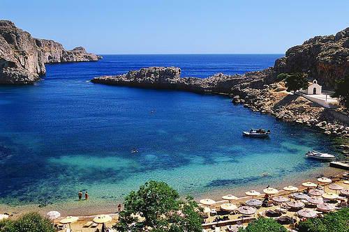 Лучшие пляжи Родоса: Бухта Святого Павла
