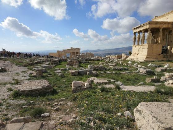 Октябрь в Афинах