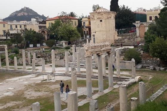Афины весной