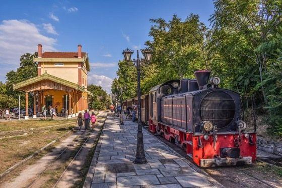 Город Волос Греция