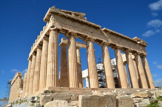 Парфенон на Акрополе, Афины