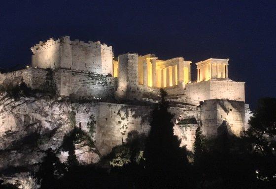 Пропилеи Акрополя в Афинах