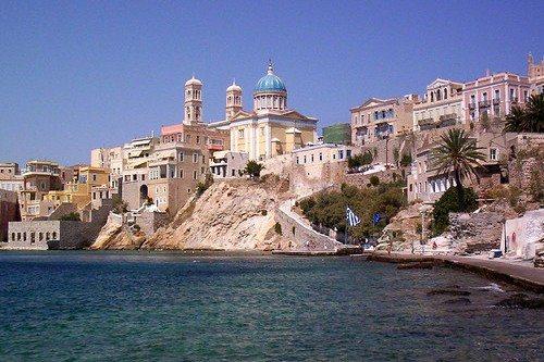 Остров Сирос в Греции: описание курорта