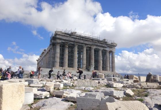 Парфенон на Афинском Акрополе