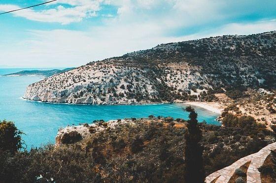 Пляжи на острове Тасос