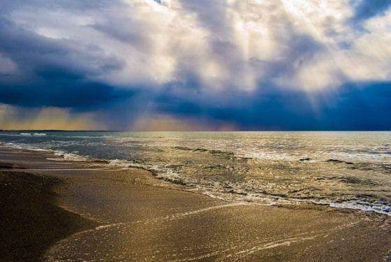 Пляж Курион на Кипре