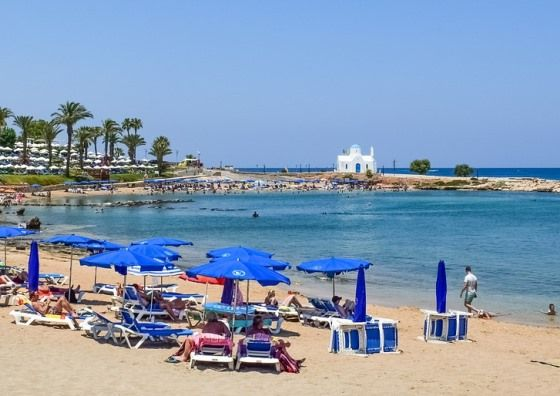Пляж Протарас на Кипре