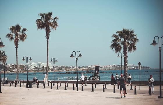 Набережная Пафоса на Кипре