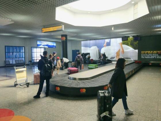 После модернизации терминал внутри выглядит довольно современно