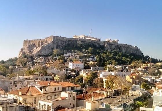 Афинские крыши