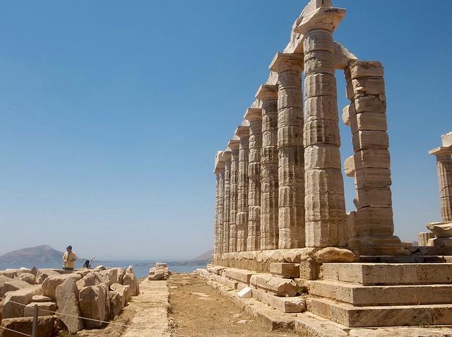 Сунион, Храм Посейдона