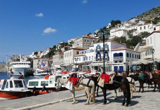 Остров Гидра в Греции