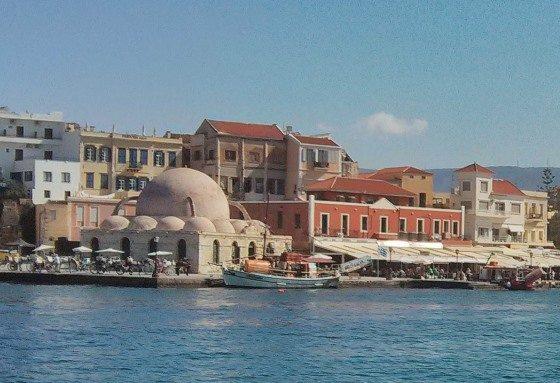 Город Ханья на Крите