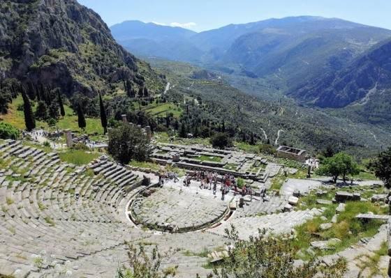 Театр в Дельфах