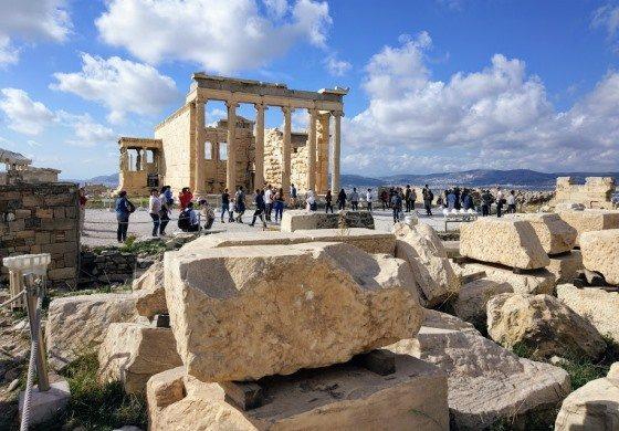 Самая популярная экскурсия в Афинах - это, конечно же, Акрополь