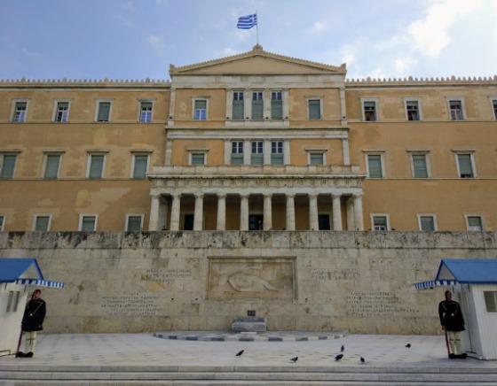 Греческий Парламент на Синтагме
