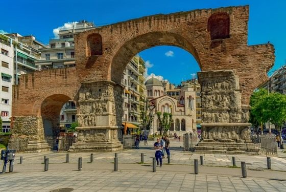 Триумфальная арка Салоники