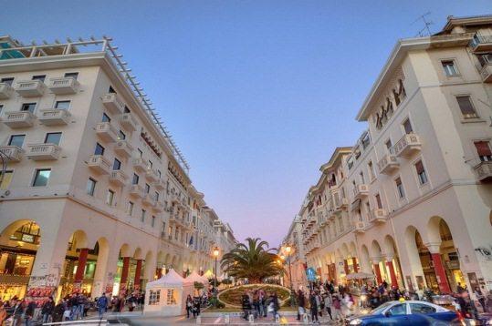 Салоники - настоящий рай для любителей шоппинга