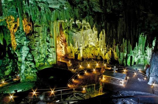 Пещера Мелидони, Крит
