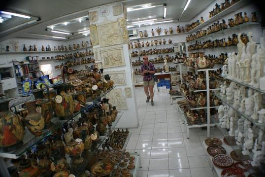 Сувенирный шоппинг на Родосе