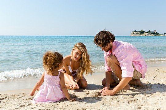 Халкидики отлично подходит для отдыха с ребенком
