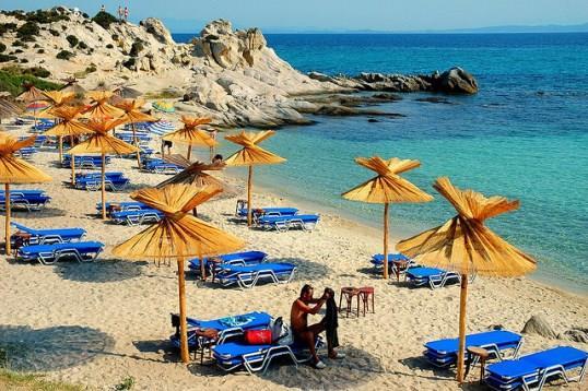 Пляжи Халкидики нахваливают все родители