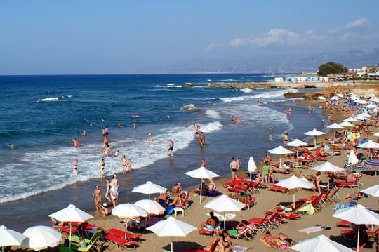 пляж Стар Бич в Херсониссосе на Крите
