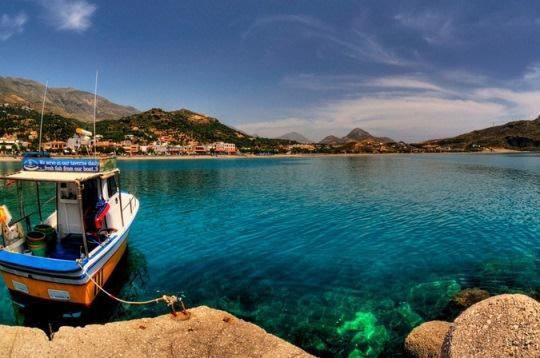 Плакис - один из лучших пляжей Крита