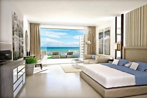 Многие номера отелей Сани Бич имеют панорамный вид на море