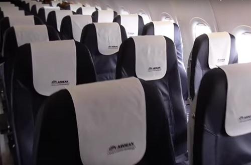 На борту пассажиров ждут уютные кожаные кресла