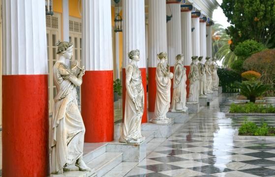 Дворец Ахиллеон, Экскурсии на Корфу