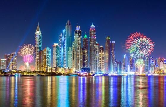 Попасть на Новый год в Дубаи - большая удача