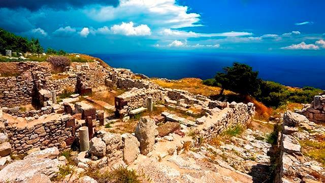 Руины Древней Фиры