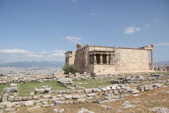 Гекатомпедон - храм в честь богини Афины на Акрополе