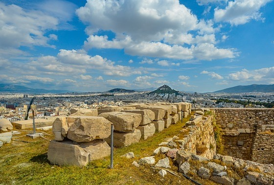 Храм Зевса Полиея на Афинском Акрополе