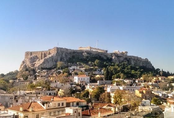 Плака - район в центре Афин