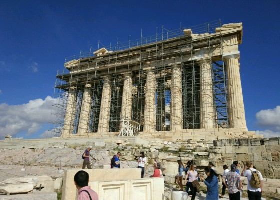 Парфенон Афинского Акрополя